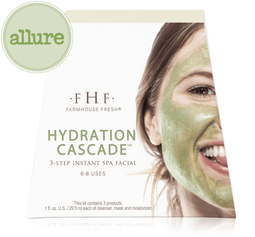 Farmhouse Fresh Hydration Cascade 3-step Instant Spa Facial