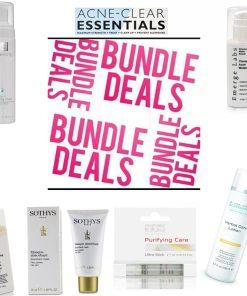 Organic Skin Care Product Bundle Best Seller Acne Solutions Skin Care Set Deal
