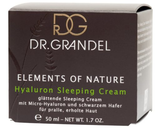 Dr Grandel Elements of Nature Hyaluron Smoothing Sleeping Cream - 50ml 2