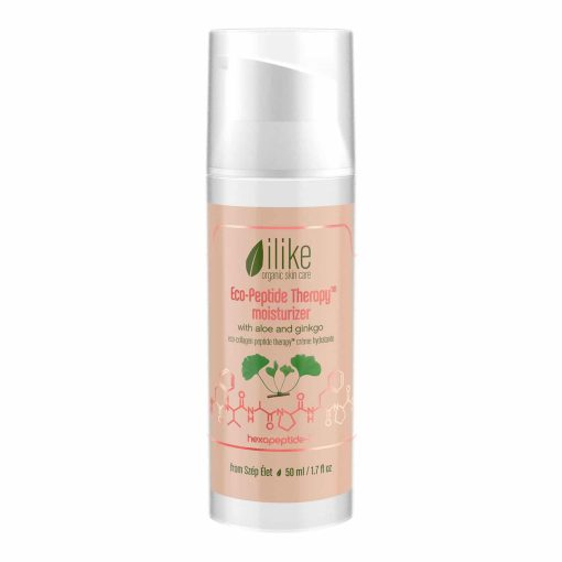 ilike Organic Eco-Peptide Therapy Moisturizer with Aloe and Ginkgo