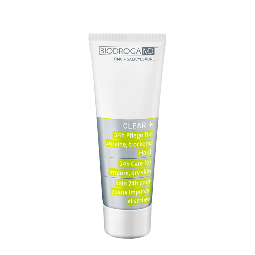 Biodroga MD Clear+ 24H Care- Impure | Dry Skin - 75ml 1