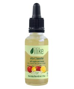 ilike Organics Vita-C Booster with Apple and Lemon