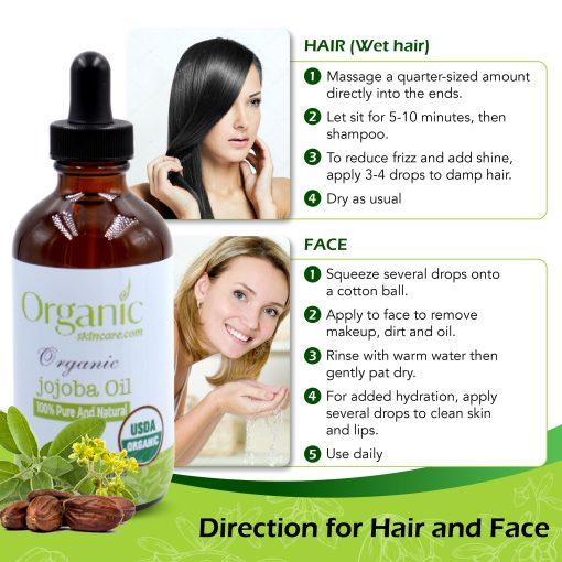 organic jojoba oil OrganicSkinCare.com