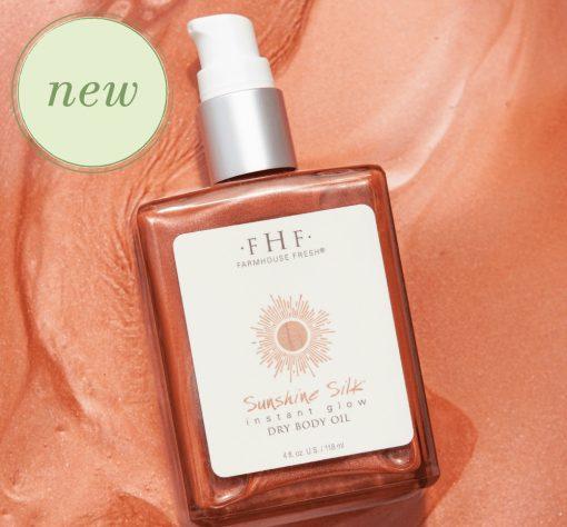 Farmhouse Fresh Sunshine Silk Instant Glow Dry Body Oil