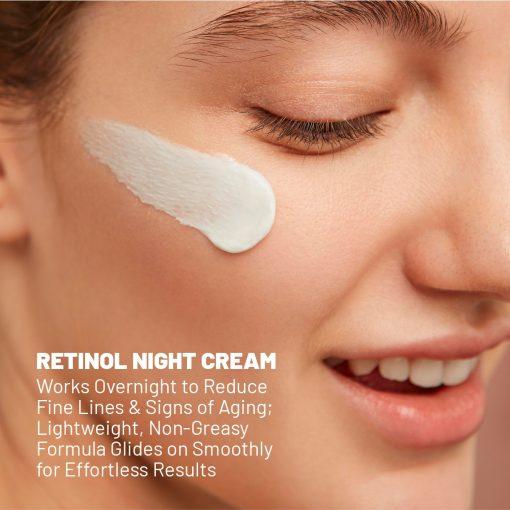 Retinol Anti-Aging Moisturizer Advanced Night Repair Face Cream - 1oz 1