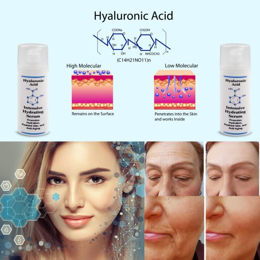 Hyaluronic Acid Intensive Hydrating Facial Serum - 1oz 1